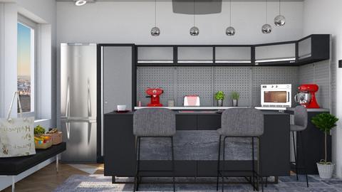 M_ Modern kitchen - Kitchen - by milyca8