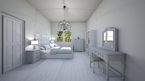 white walls - Classic - Bedroom - by chloe_mccarty