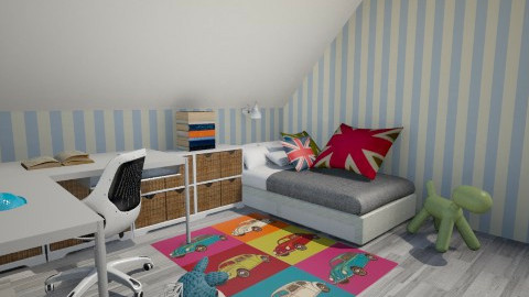 soba Zana 03 - Modern - Kids room - by masadeu