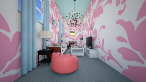 Funky Teenage Bedroom  - Retro - Living room - by Taisha Casimir