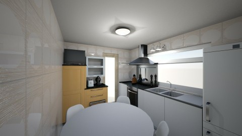cocina3 - Modern - Kitchen - by Diana Dato