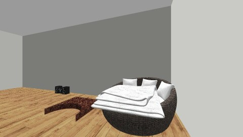 start of room - Bedroom - by Isabella Mastroianni