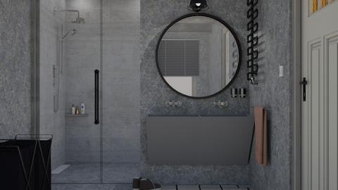 Industrial Bathroom - Minimal - Bathroom - by HenkRetro1960
