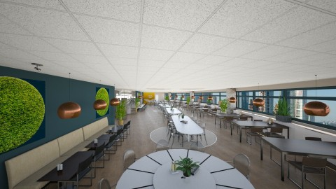 16de restaurantgedeelte - Global - Office - by Quin deW