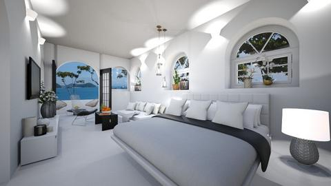 Santorini Bedroom - Bedroom - by JarkaK
