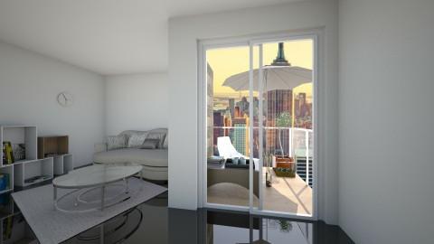 small balcony - Living room - by bad carma