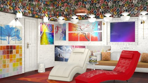 Paint Person  - Modern - Living room - by InteriorDesigner111