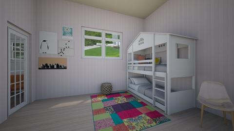 Tweeny Twins - Kids room - by RacesJalina