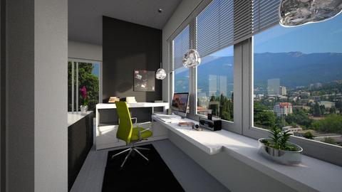 sliding - Living room - by takiii1