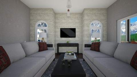 h - Living room - by beckygoatcher