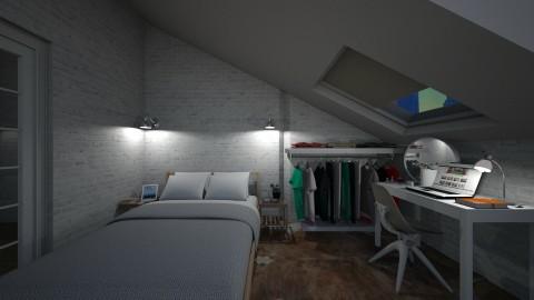 Casa151Bedroom_Office - Feminine - Bedroom - by nickynunes
