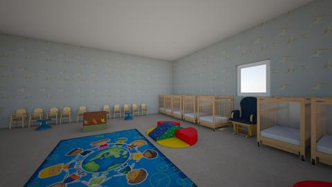 InfantToddler Classroom - Kids room - by FARDCDFWCQKQXNAHZWYEHDPULUCMRAD