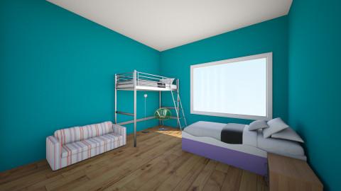 Laura Puryear - Kids room - by Hanna E