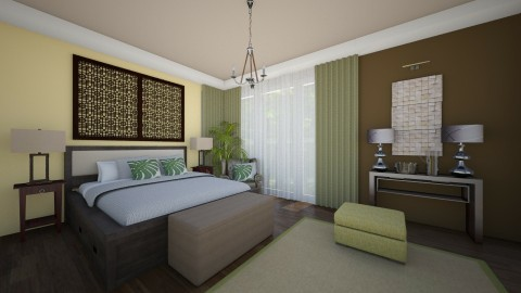 Masterbedroom Green 5 - Minimal - Bedroom - by Ejad Shukri