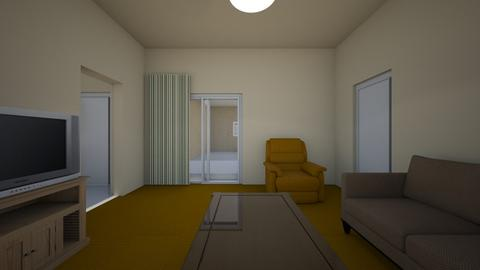 Apartment LR - Living room - by WestVirginiaRebel