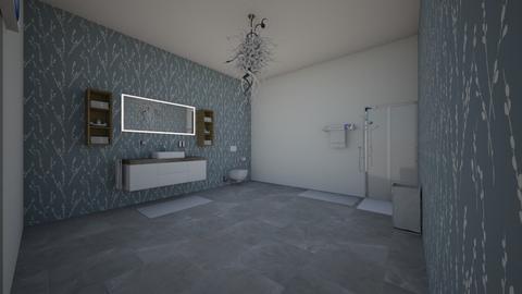 master bathroom - Bathroom - by NoorShehadi