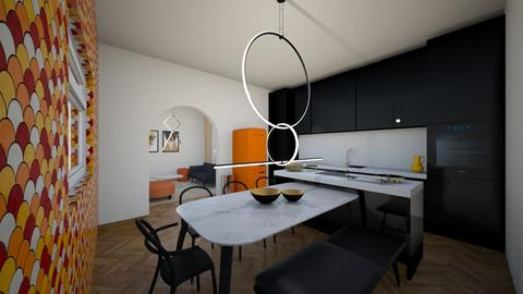 Open concept kitchen - Modern - Kitchen - by Ster
