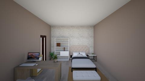 room Guillem  - Bedroom - by Paulasanchezd