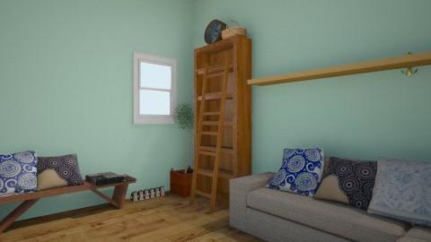 beach house - Living room - by medi
