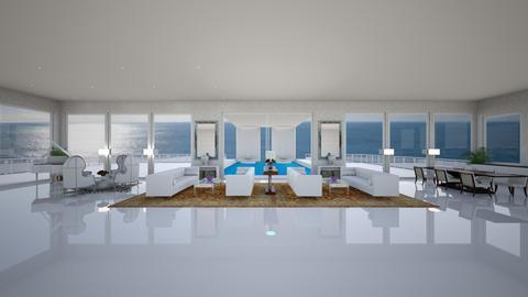 Beach Penthouse - Modern - Living room - by onp3894
