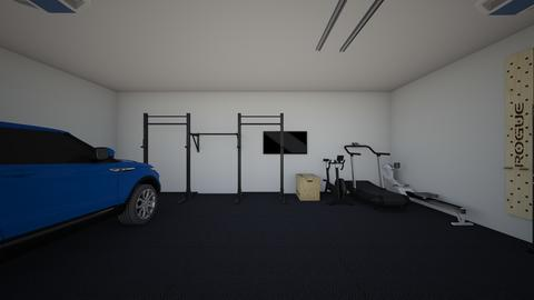 Garage Gym - by rogue_6e643ddfa7178a23f0687e9094d57