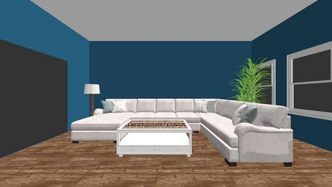 Furnishing Assignment - Living room - by sophiecherne
