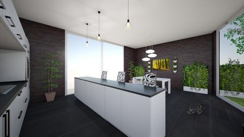 Modern kitchen in the mid - Kitchen - by Shanirami