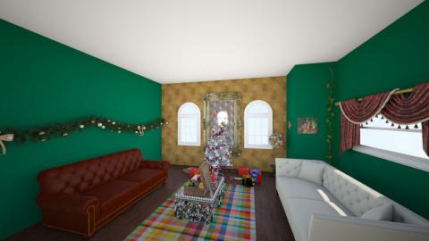 Testingonipad - Living room - by ditzygypsy