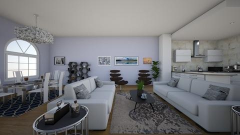The clock tower - Minimal - Living room - by Jacqueline De la Guia