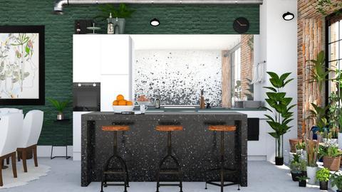 Jungle Kitchen - Kitchen - by ArtHousedeco