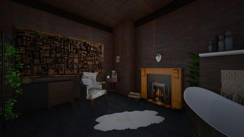 The woodcutters cottage - Living room - by BHeybs