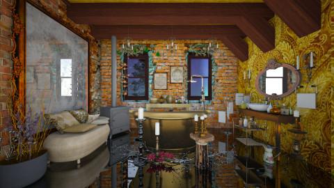 Old Boho - Eclectic - Bathroom - by Ida Dzanovic