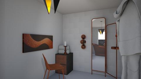 Copper bath - by klara skop