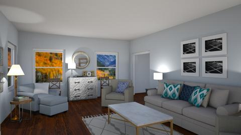 Neutral Living Room  - Living room - by Fixer Upper Rules