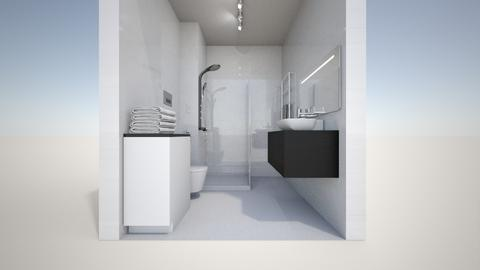 Masza Bathroom - Bathroom - by gosiai