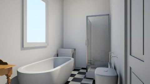 Main with longrect shower - Bathroom - by willswanson