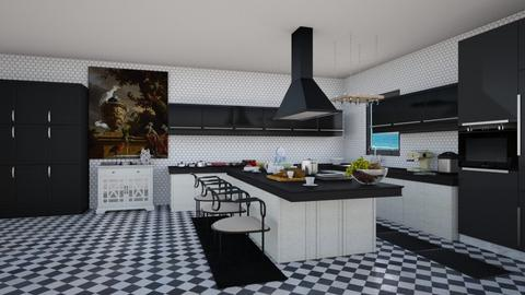 37 - Kitchen - by Raven Storme