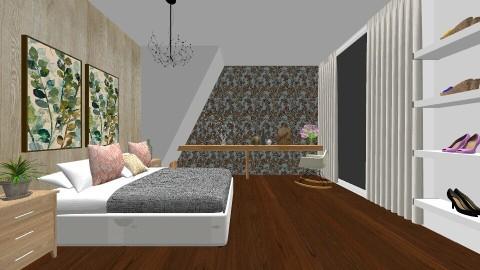 Leaf bedroom - Bedroom - by stephaniedelios1992