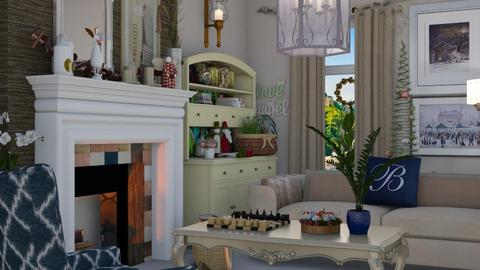 Cosy Christmas  - Living room - by Tree Nut