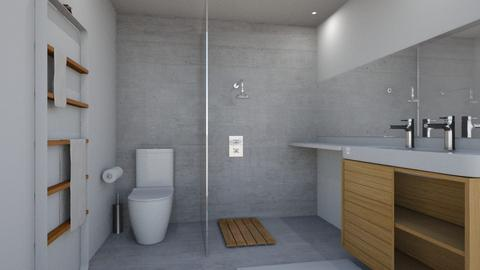 Natural Bathroom 1 - Minimal - Bathroom - by sosustainable