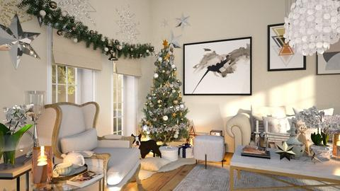 Noel - Living room - by zarky