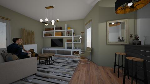 living room - by kla