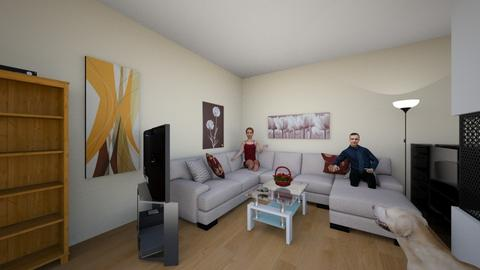 Wohnzimmer gelb - Classic - Living room - by ilkipilki