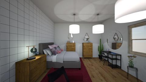 pink - Bedroom - by sylwia123