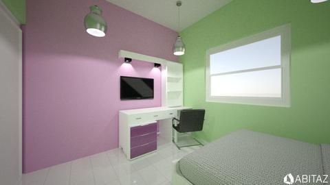 joy landlrd daughter room - Bedroom - by DMLights-user-1347648