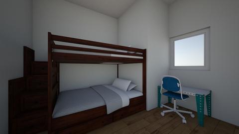 boys kids room - Bedroom - by Ike29