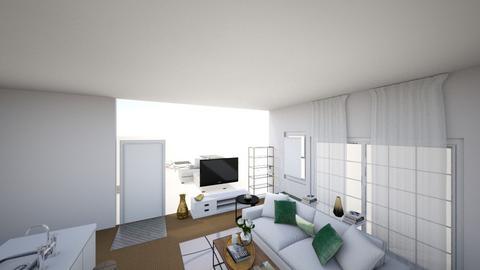 Living room 3d vector - by oliverjosh3