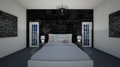 teen room - Modern - Bedroom - by calelegh170