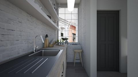 Casa243Kitchen - Eclectic - Kitchen - by nickynunes