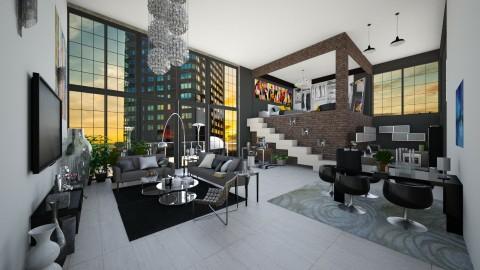 duplex - Modern - Office - by Mihailovikj Mimi